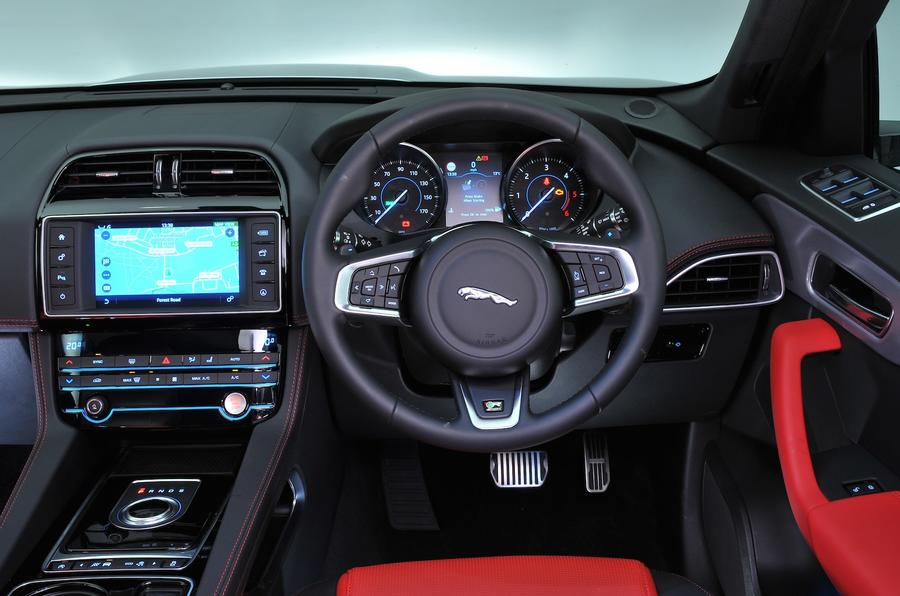 Jaguar F-Pace S dashboard