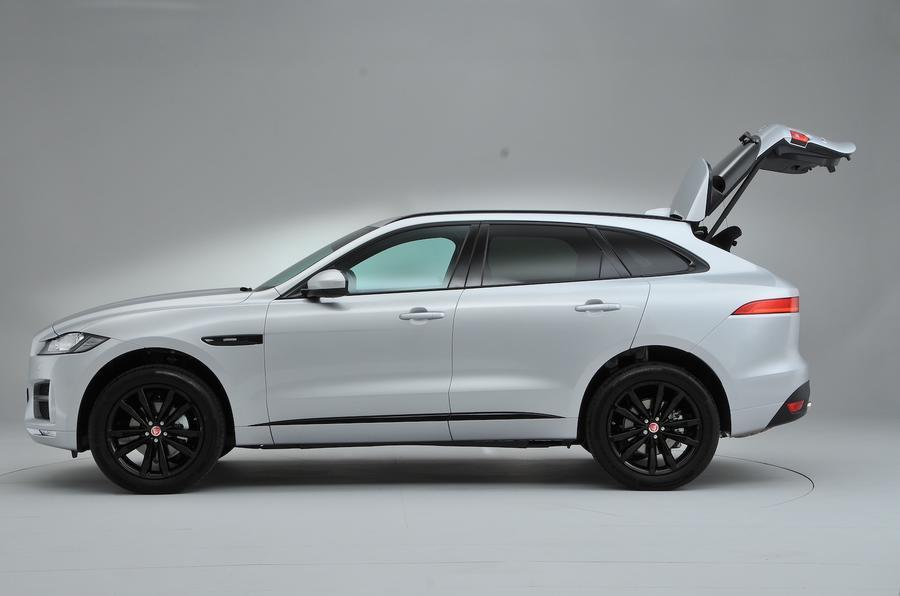 Jaguar F-Pace boot open