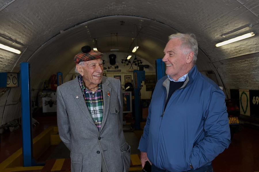 Autocar visits Ronnie Grant at Clapham North garage