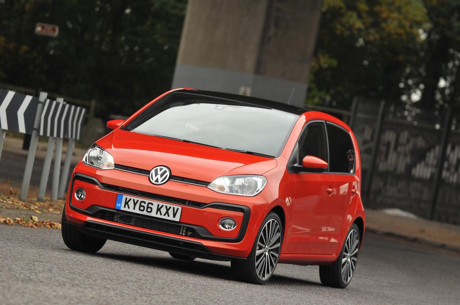 2016 volkswagen up 1 0 tsi high up review autocar. Black Bedroom Furniture Sets. Home Design Ideas