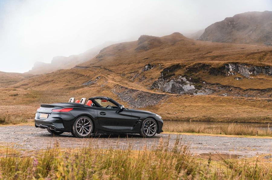 BMW Z4 vs Porsche Boxster and Audi TT