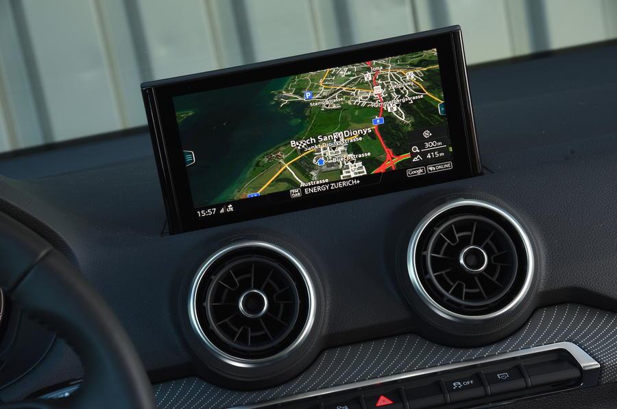Audi Q2 MMI infotainment