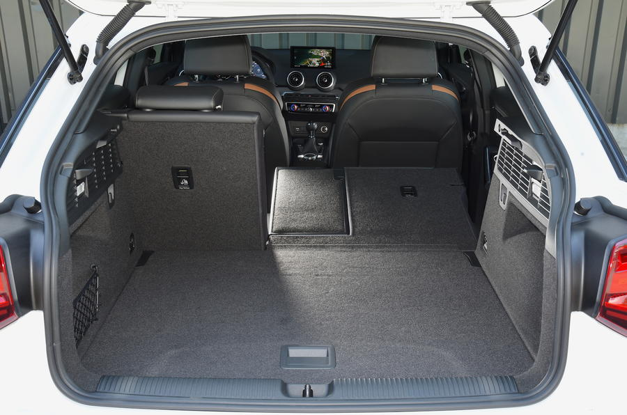 Audi Q2 seating flexibility