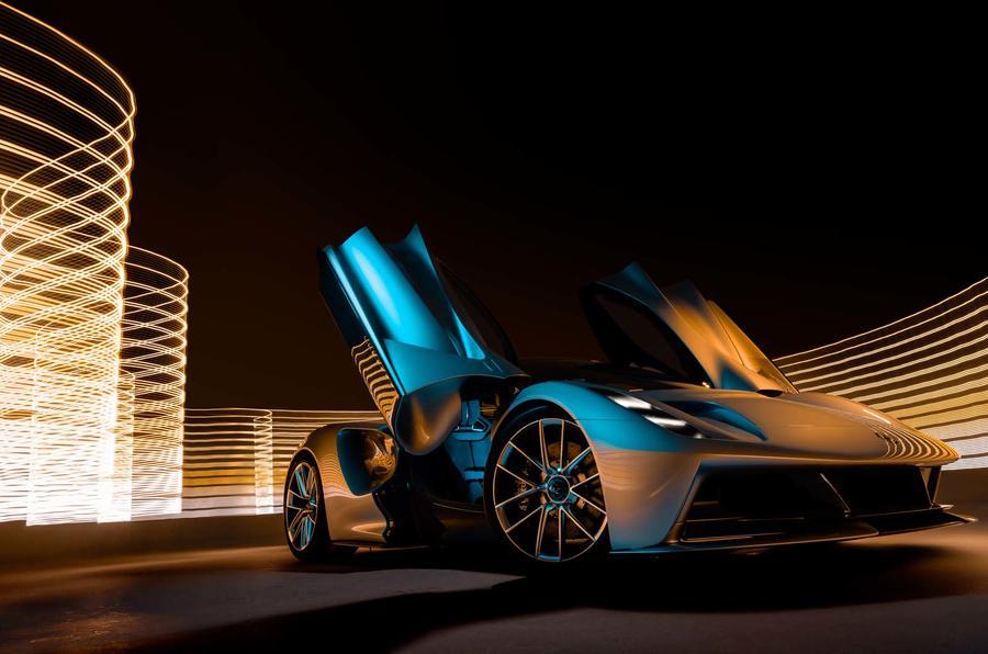 Lotus Evija hypercar revealed - studio shoot