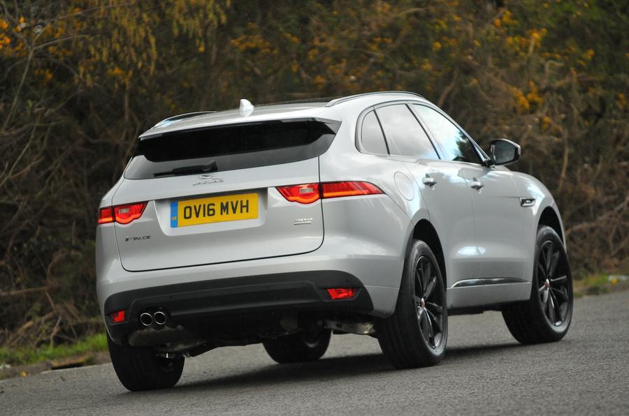 Jaguar F-Pace 2.0d rear