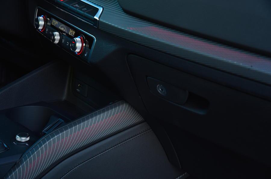 Audi Q2 interior trim