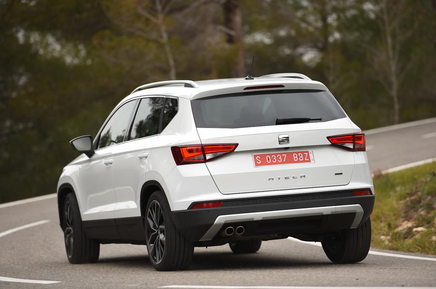 2016 seat ateca 2 0 tdi 150 4drive review review autocar. Black Bedroom Furniture Sets. Home Design Ideas