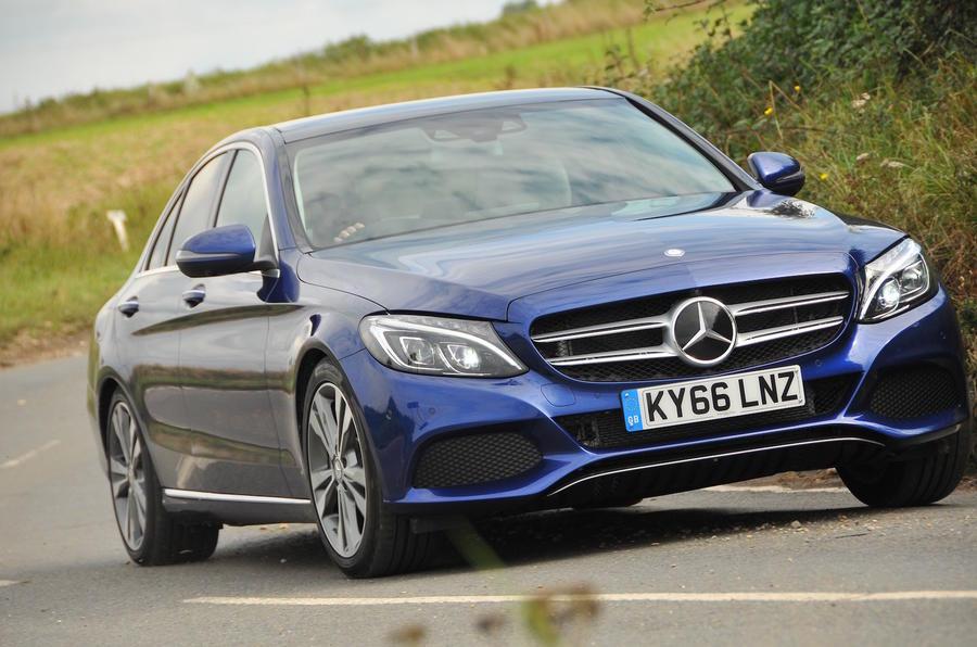 2016 mercedes benz c 350 e sport review review autocar for Mercedes benz e350 service c