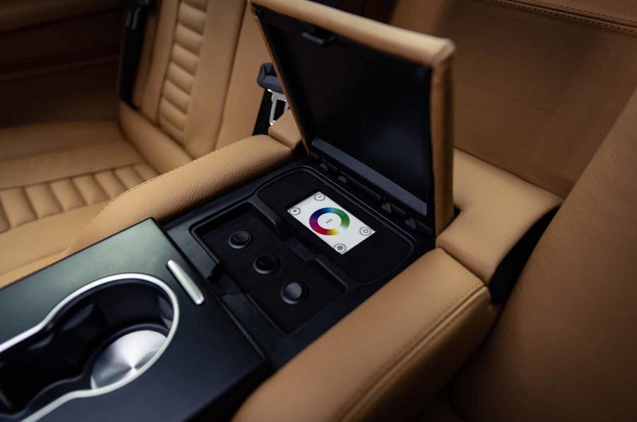 Sutton VIP Class LEVC taxi armrest