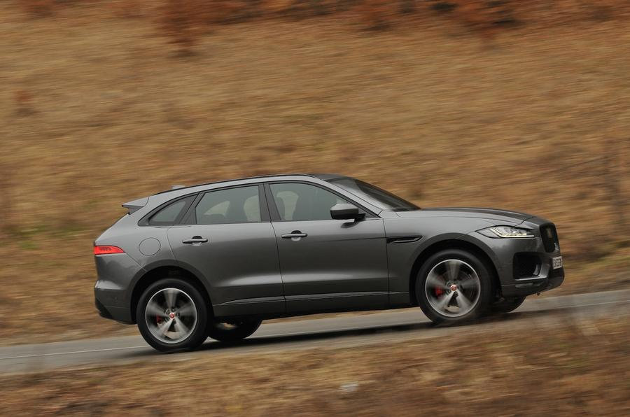 Jaguar F-Pace side profile