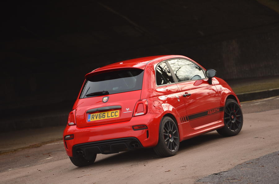 Abarth Rear
