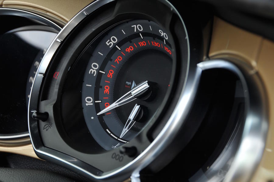 DS 3 Performance Cabrio Clocks