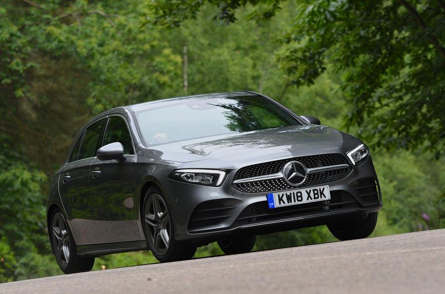 Mercedes-Benz A-Class driving - front