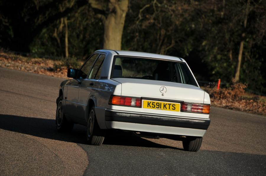 Used mercedes life with a 190e part 5 autocar for Garage mercedes 93 stains