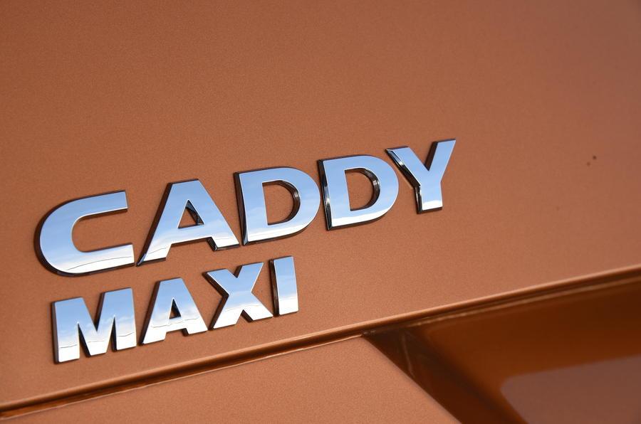 Volkswagen Caddy Maxi Life badging