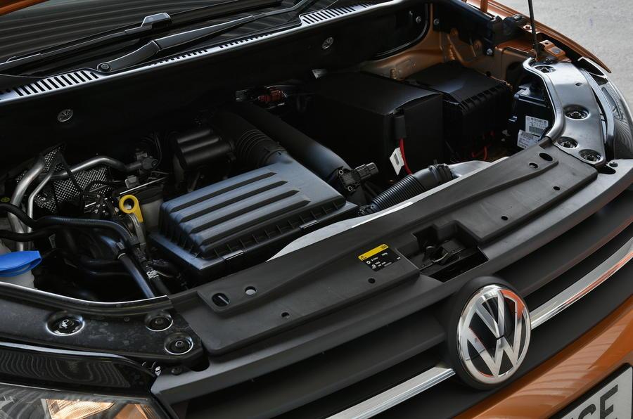 1.4-litre TSI Volkswagen Caddy Maxi Life engine