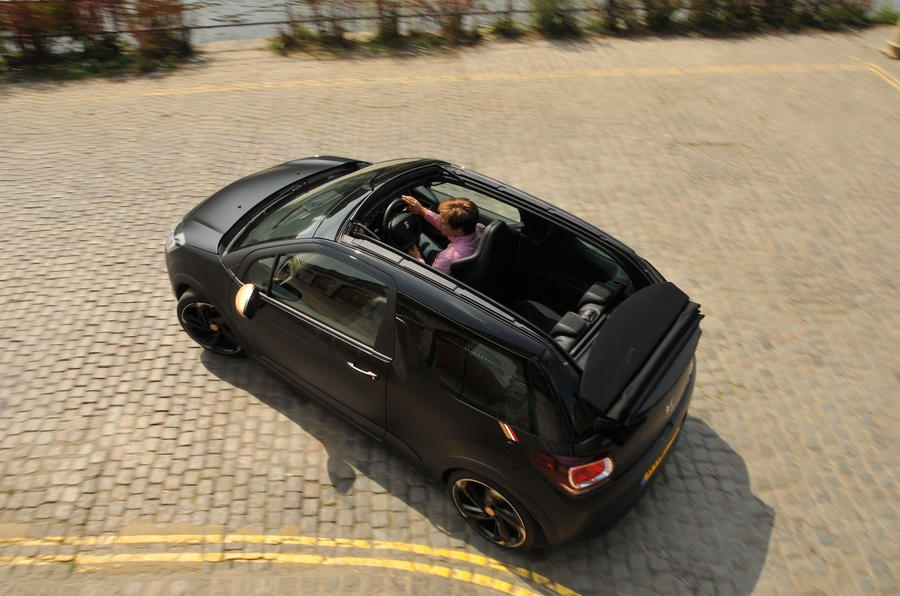 DS 3 Performance Cabrio Overhead