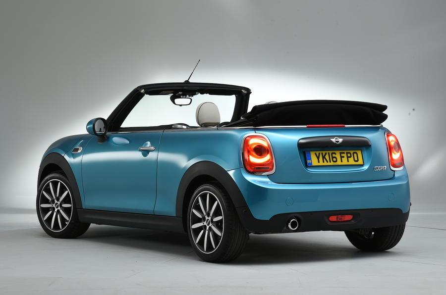 Mini Cooper Convertible rear end