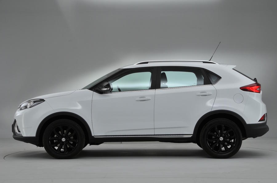 MG GS Exclusive DCT side profile