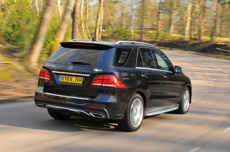 2016 mercedes benz gle 350 d amg line review review autocar for Mercedes benz gle amg
