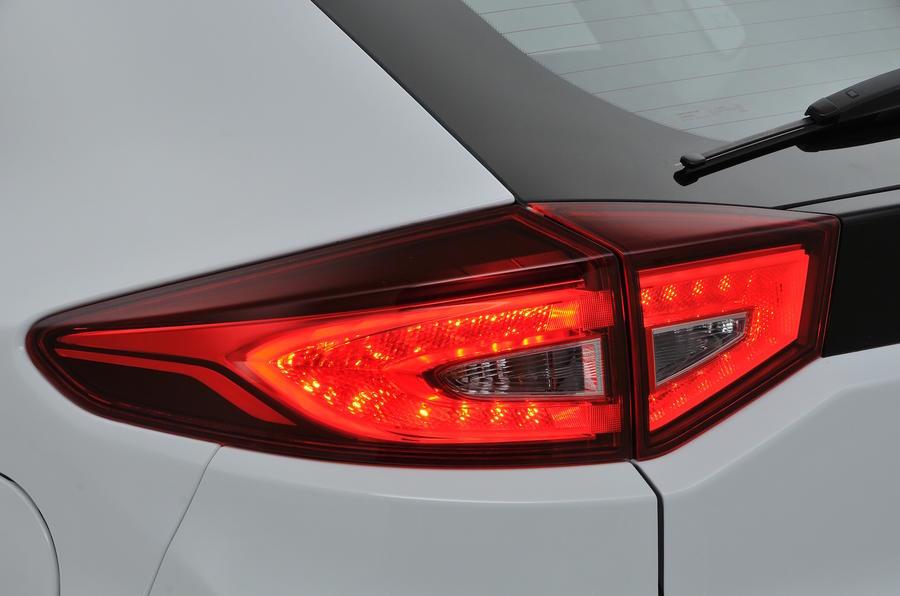 MG GS rear light