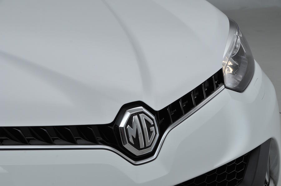 MG GS front grille