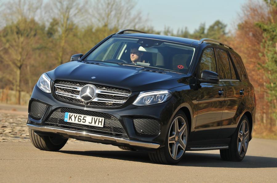 Mercedes-Benz GLE 350 d cornering