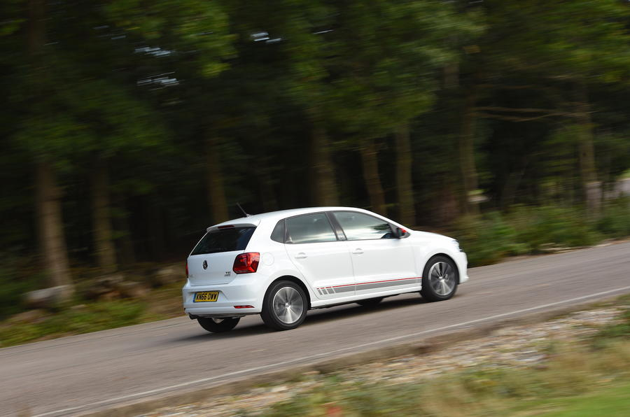 Volkswagen Polo Beats Edition rear