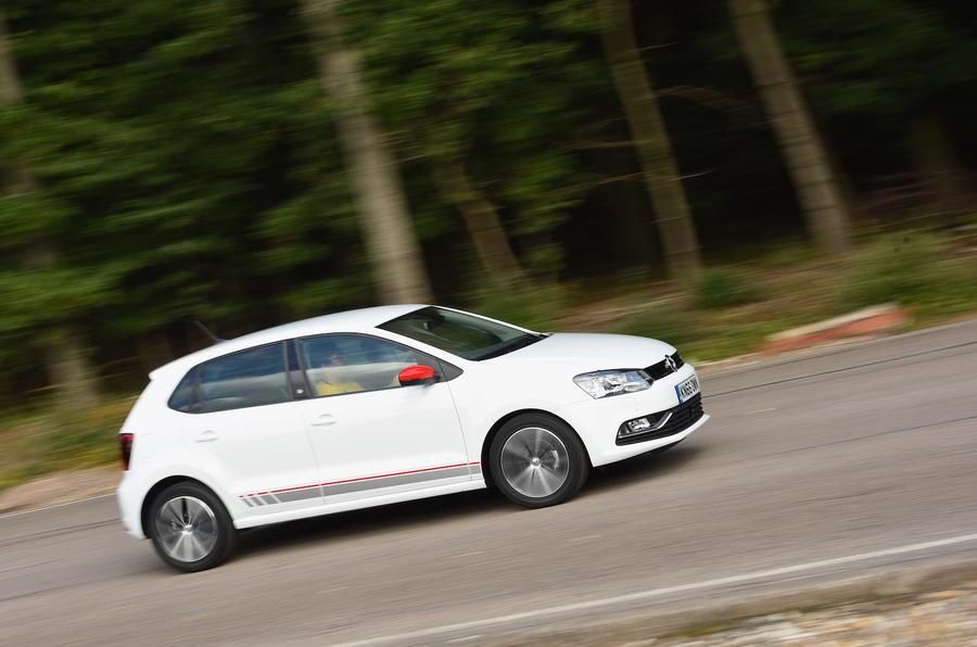 Volkswagen Polo Beats Edition cornering
