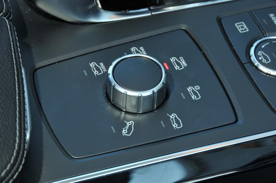Mercedes-Benz GLE 350 d off-road dynamic control