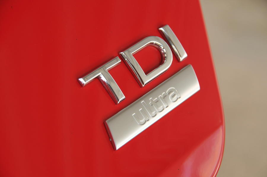 Audi TDI badge