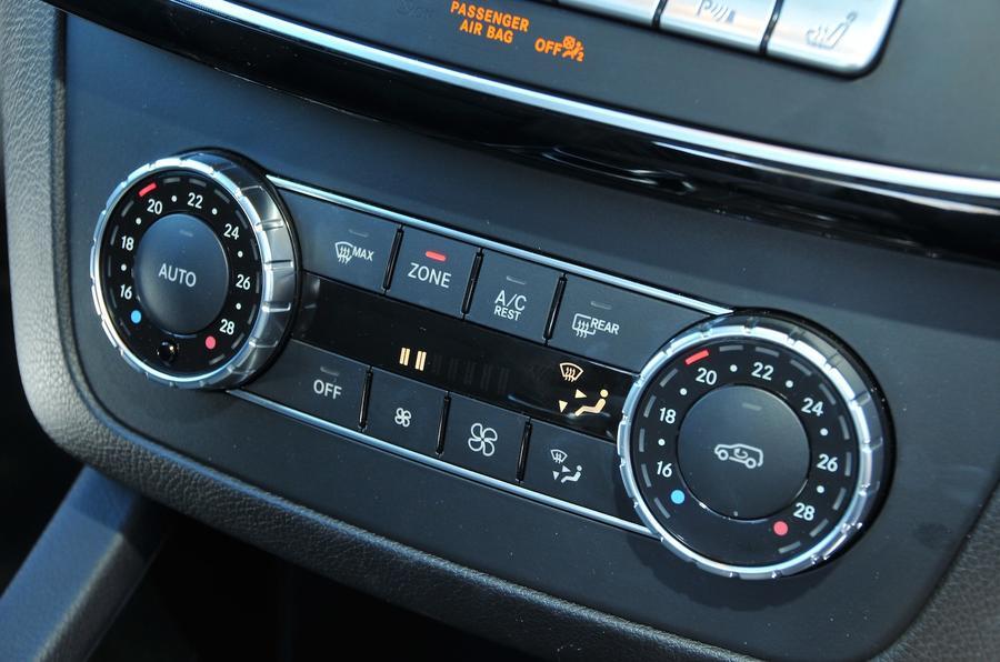 Mercedes-Benz GLE350 d climate control