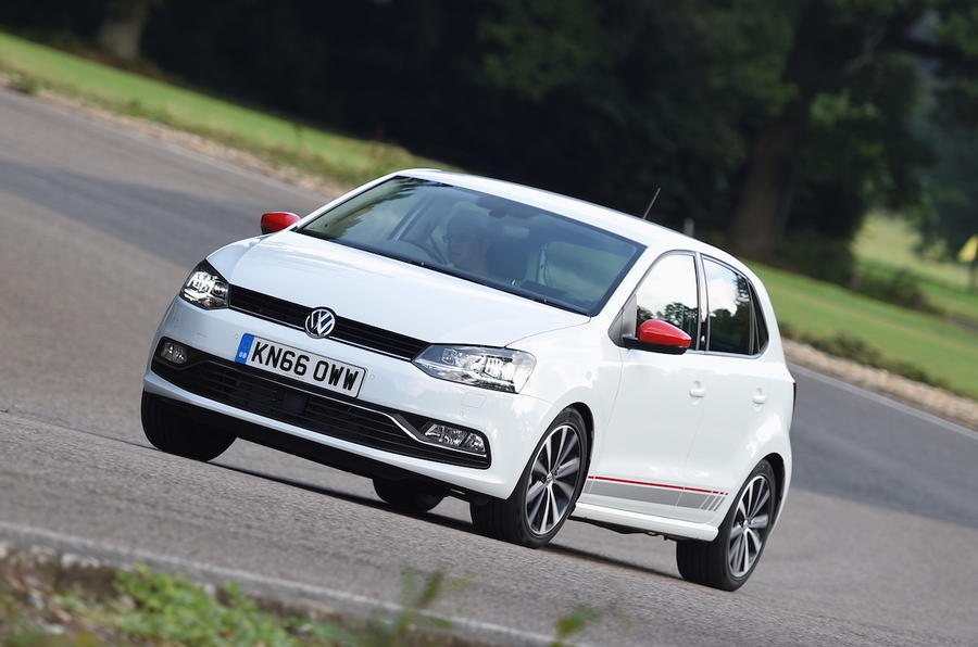 Volkswagen Polo Beats Edition hard cornering