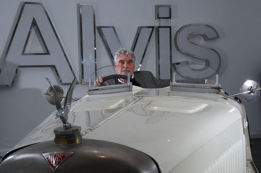 Alvis factory in Kenilworth