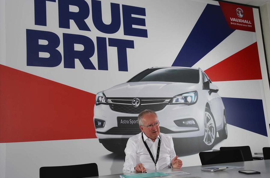Vauxhall boss Stephen Norman