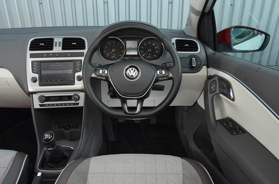 Volkswagen Polo Beats Edition dashboard