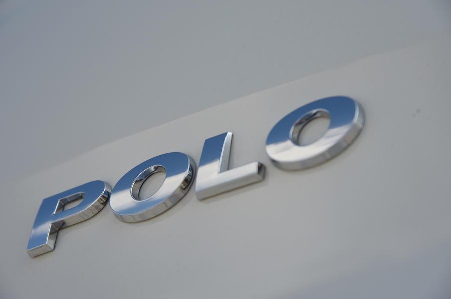Volkswagen Polo badging