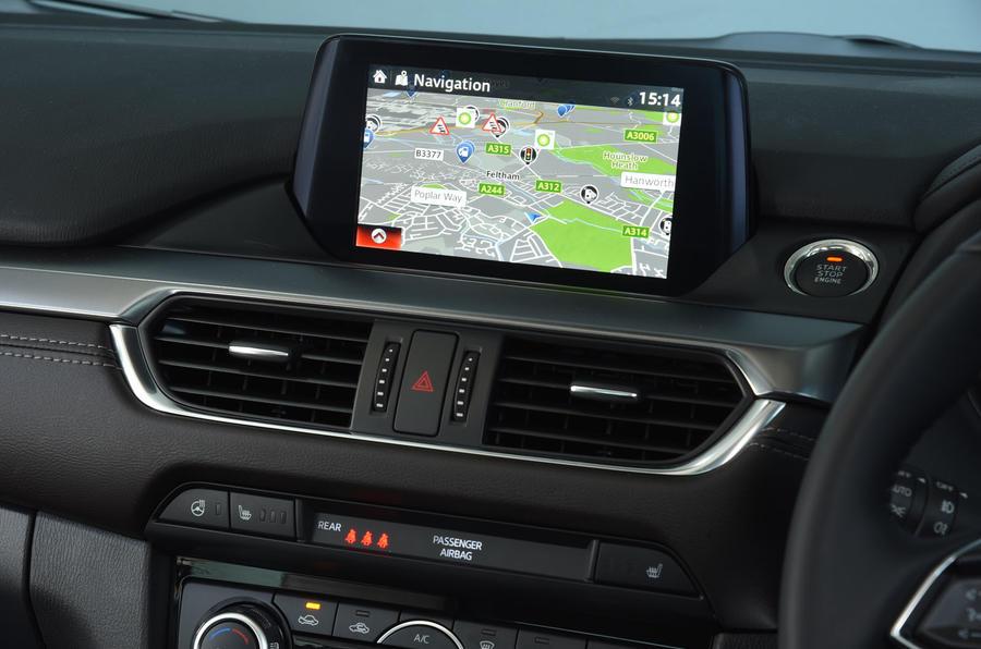 Mazda 6 Sport >> 2016 Mazda 6 2.2 Skyactiv-D 175 Sport Nav review review | Autocar