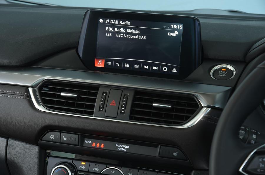 Mazda 6 infotainment system