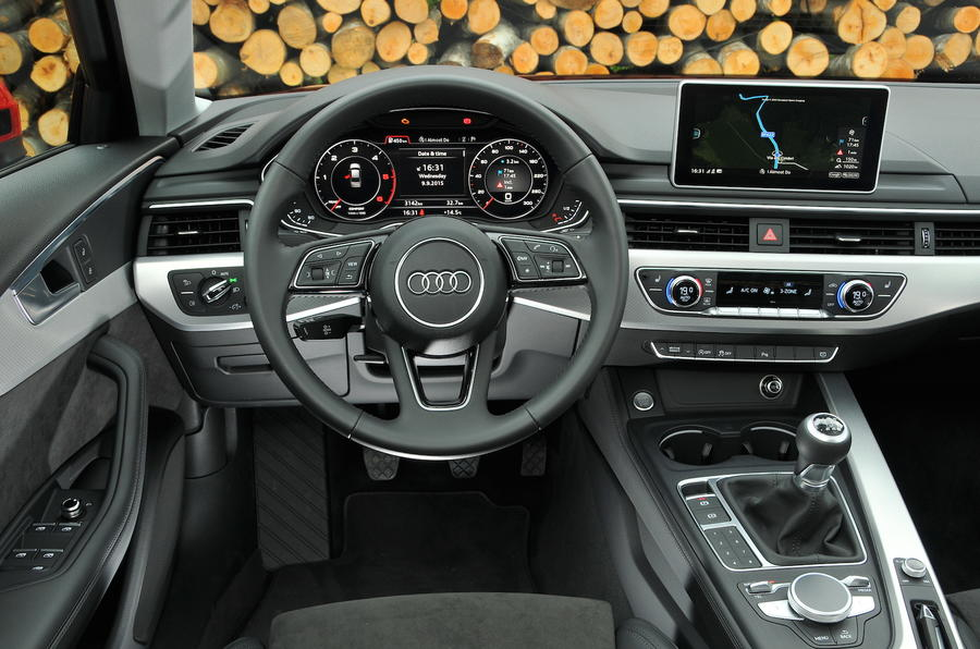 2015 audi a4 2 0 tdi ultra 190 sport review review autocar for Interieur mercedes 190