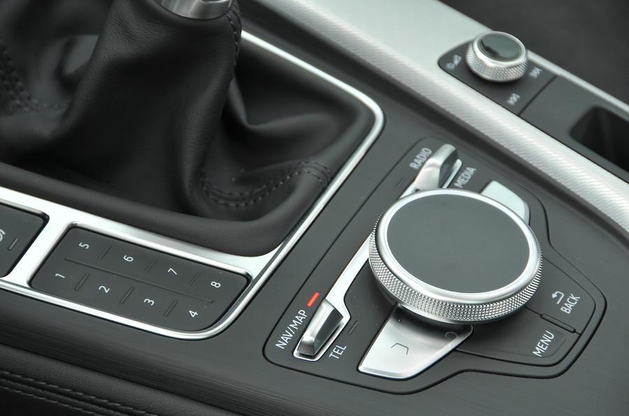 Audi A4 MMI infotainment controller