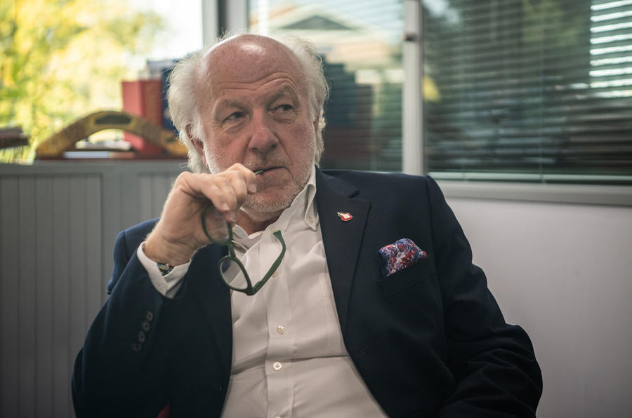 Prodrive boss David Richards