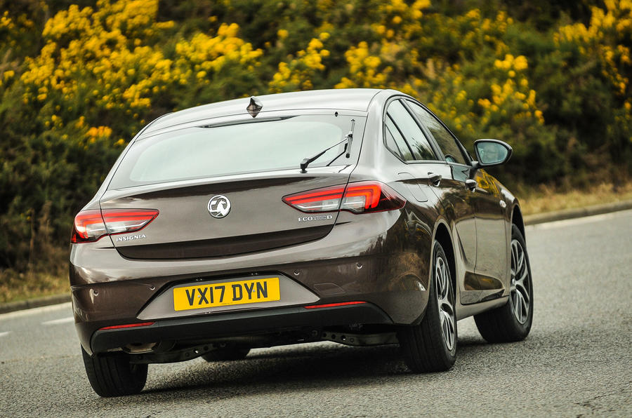 Vauxhall Insignia Grand Sport rear