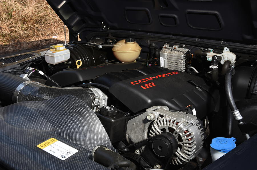 6.0-litre V8 Twisted T40S engine