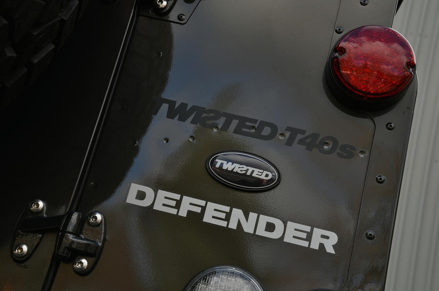 Land Rover Defender badging