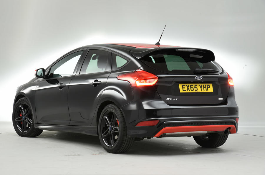 Ford Focus Black Edition rear