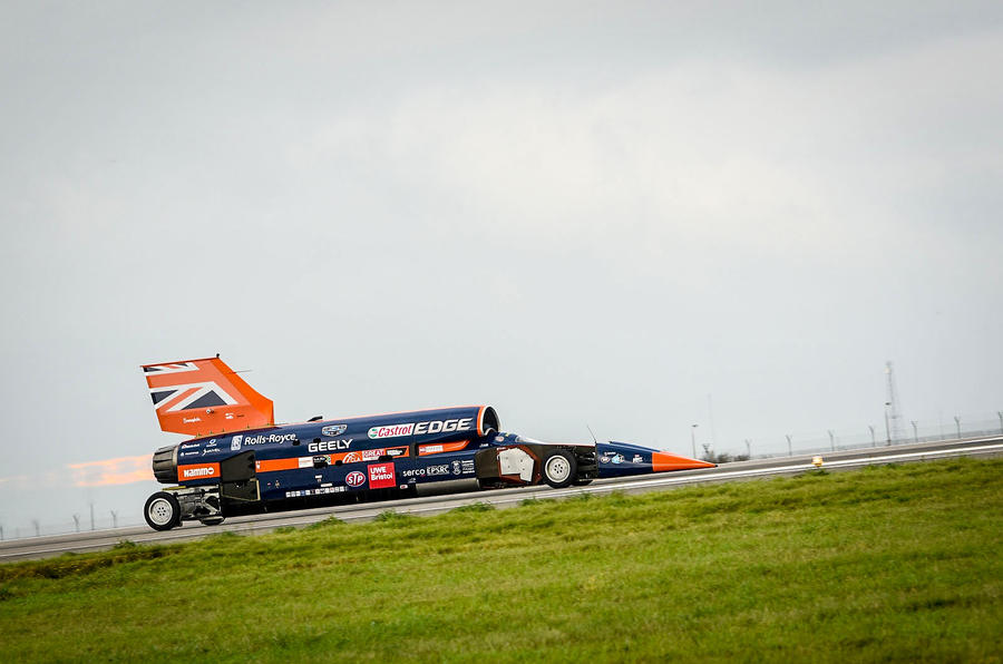 Bloodhound land speed record attempt due in late 2019