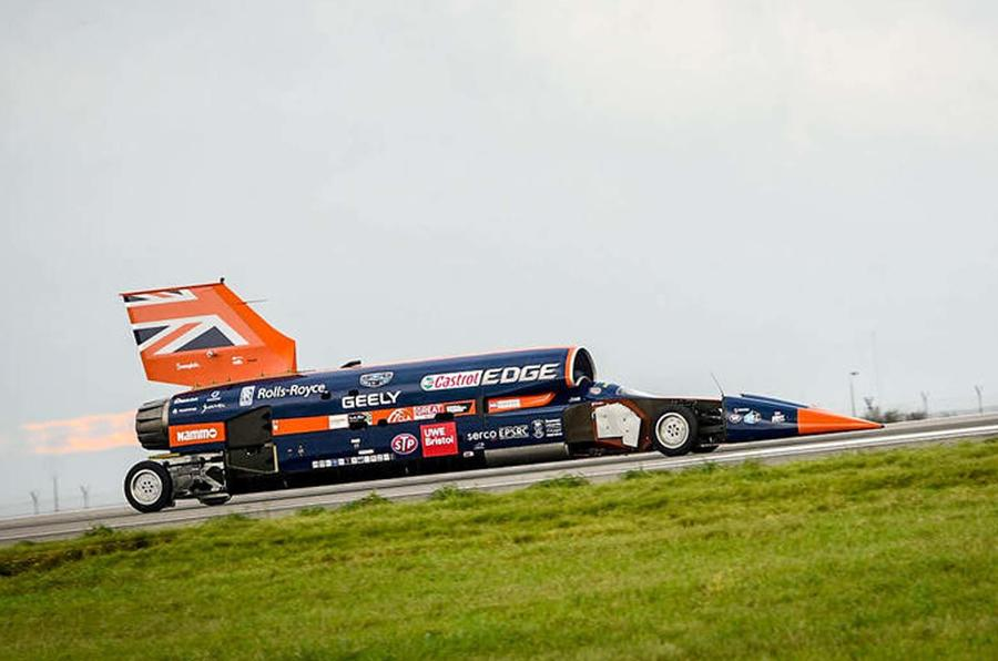 Bloodhound Supersonic Car project runs out of cash