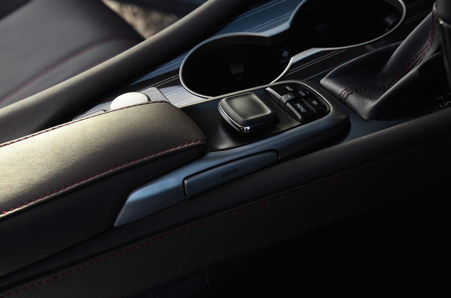 Lexus RX450h infotainment controller