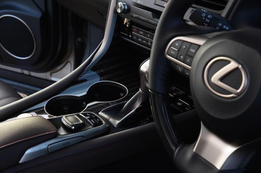Lexus RX450h steering wheel